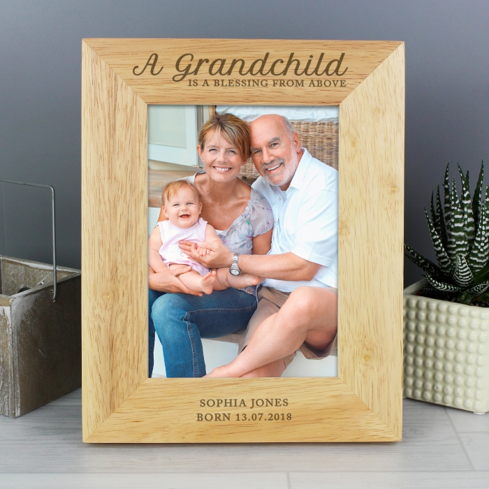 Unique Memories Product Detail Personalised A Grandchild Is A