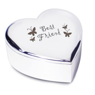 Best Friend Heart Trinket
