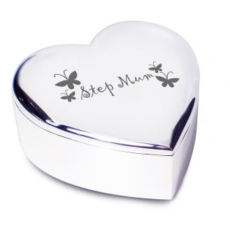 Step Mum Heart Trinket