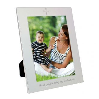 Silver 5x7 Godmother Frame