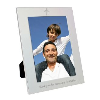 Silver 5x7 Godfather Frame