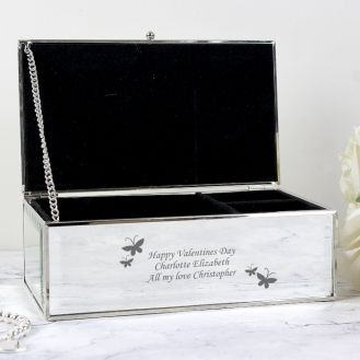 Butterflies Jewellery Box