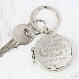 To the Moon and Back...Photo Keyring