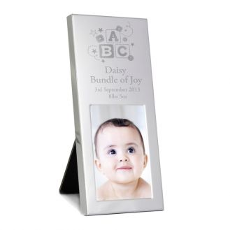ABC Small Silver 2 x 3 Frame
