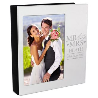 Mr & Mrs Photo Album 6x4