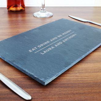 Classic Slate Rectangle Placemat