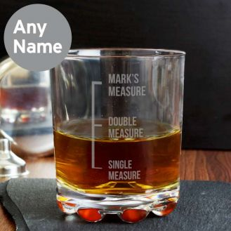 Measures Whisky Glass