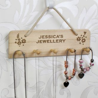 Wooden Jewellery Display Holder