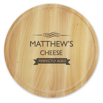 Perfectly Aged Round Chopping Board