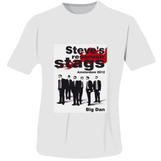 Reservoir Stags T-Shirt - White - Small