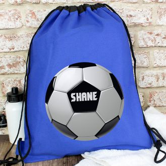 Personalised Football Swim & Kit Bag