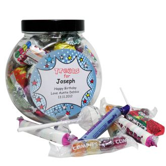Comic Book Sweet Jar