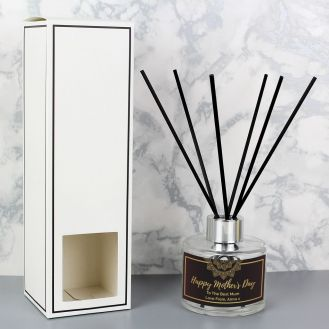 Personalised Gold Mandala Reed Diffuser