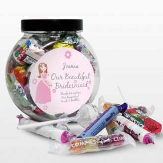 Fabulous Bridesmaid Sweet Jar
