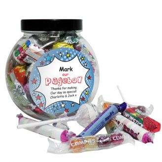 Comic Pageboy Sweet Jar