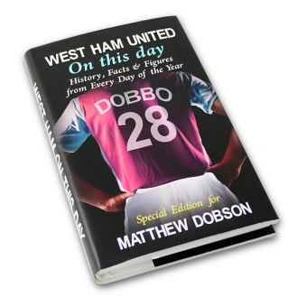 West Ham On This Day Book