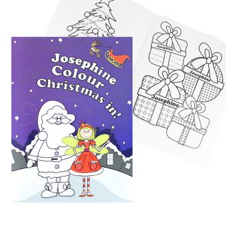 It`s Christmas Fairy Colouring Book