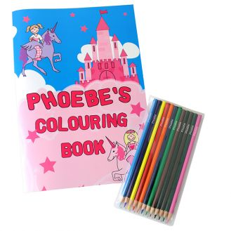 Princess Colouring Set