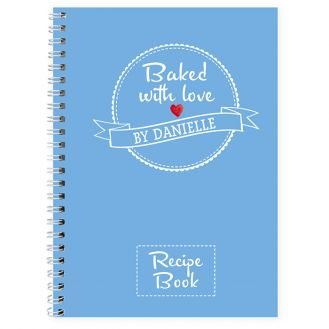 Baked With Love Recipes Notebook