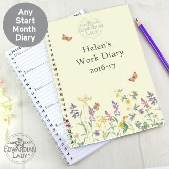 Country Diary Wild Flowers A5 Diary