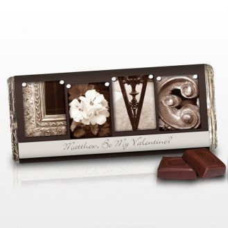 Affection Art Love Chocolate Bar