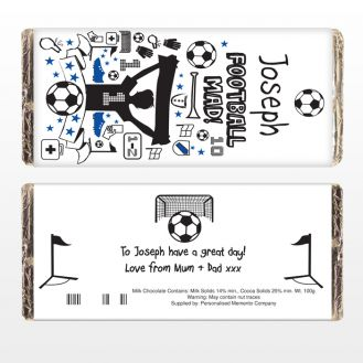Football Chocolate Bar