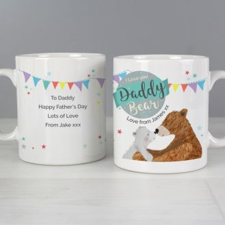 Personalised Daddy Bear Mug