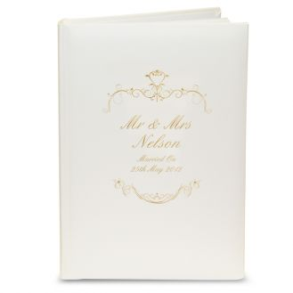 Gold Ornate Swirl Album with Sleeves