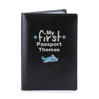 My First Black Passport Holder