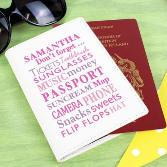 Dont Forget Pink Passport